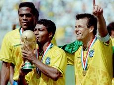 Romario a été le roi du football en 1994. AFP