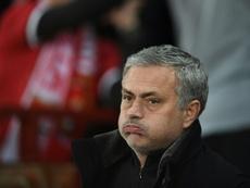 Mourinho habló del partido y del mercado... por última vez. AFP