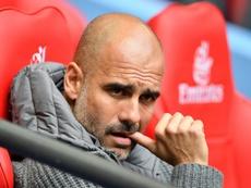 Paratici descartó a Guardiola. AFP