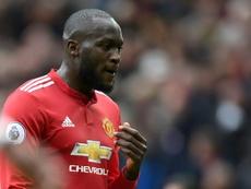 Manchester United signed Lukaku for £75million. AFP