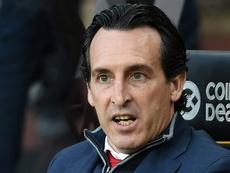 Emery analizó la victoria ante el Valencia. AFP