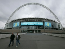 Spurs could be in Wembley for the rest of the season. AFP
