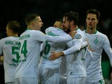 Goleada del Werder Bremen que no aprovechó el Stuttgart. AFP