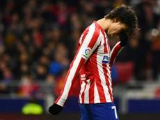 L'absence de Joao Felix contre Liverpool se confirme. AFP