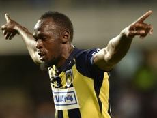 Sitúan a Usain Bolt cerca del Valletta FC de Malta. AFP