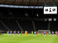 El Hertha se llevó un sentido derbi berlinés. AFP