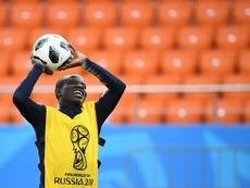 Kanté pourrait recevoir une offre de prolongation. AFP