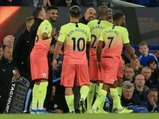 El City gana y deja tocado a Marco Silva. AFP