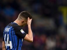 El Inter cuenta con Perisic. AFP