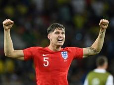 Stones regrette la défaite contre la Belgique. AFP