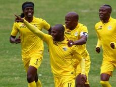 Zimbabwe won the COSAFA against Zambia. AFP