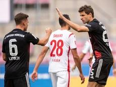 Le Bayern s'est fait peur mais gagne. AFP