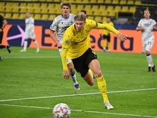Cuidar a Haaland, prioridad en Dortmund. AFP
