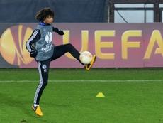 Aké vuelve a los planes del Chelsea si sale Christensen. AFP