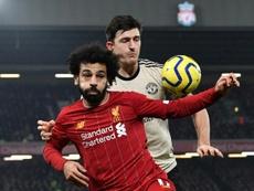 Liverpool y United se enfrentan en lo más alto de la clasificación. AFP