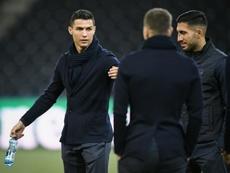 Cristiano Ronaldo manque. AFP