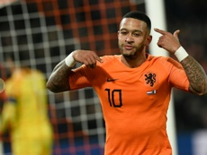 Depay has called for UEFA to take action after racism marred a second tier Dutch match. AFP