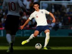 Declan Rice es uno de los jugadores más prometedores de Inglaterra. AFP