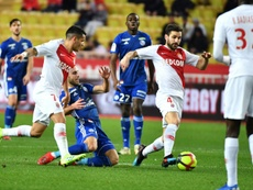 Fàbregas fue titular en el descalabro monegasco. AFP