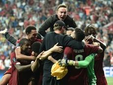 Adrián 1er couronne Liverpool roi d'Europe. AFP