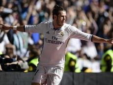 Gareth Bale debutó y marcó su primer tanto con el Madrid en Villarreal. AFP