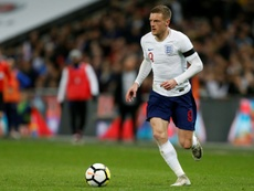 Vardy retired from England duty. AFP