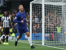 'RMC' ve a Hazard de blanco el próximo verano. AFP