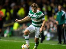 El Celtic goleó al Kilmarnock y continúa al frente de la tabla en Escocia. AFP