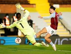 El Aston Villa volvió a ganar. AFP