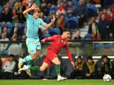 Barcelona have ended their pursuit of de Ligt. AFP