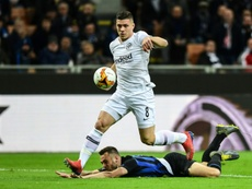 Jovic, l'homme à la mode en Europe. AFP