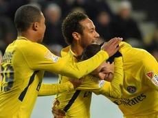 Meunier aime bien Neymar en numéro 10. AFP
