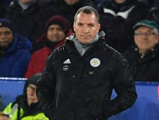 Rodgers is calm and relaxed. AFP