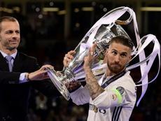 El Madrid es menos en Champions sin Ramos. AFP