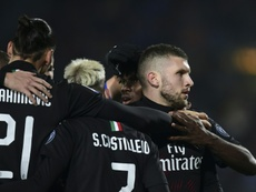 El Milan ya negocia el pase de Ante Rebic. AFP