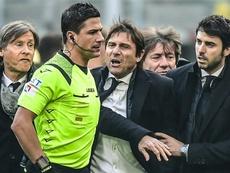 La mayúscula 'rajada' de Conte por la derrota del Inter ¡y contra Lautaro! AFP