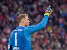 Manuel Neuer estará dos semanas fuera. AFP