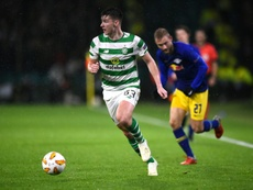 Arsenal will put in another bid for Kieran Tierney of Celtic. AFP