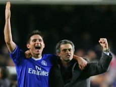 Lampard le envió un recado al luso por sus palabras. AFP