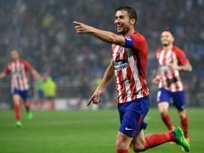 Gabi, l'ancien capitaine de l'Atlético, annonce sa retraite. AFP