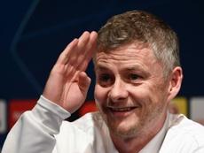 Ole-Gunnar Solskjaer volvió a atar el futuro de Paul Pogba al Manchester United. AFP