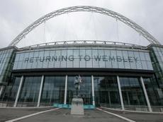 La Selección Inglesa volverá a jugar en Wembley el 8 de octubre ante Gales. AFP