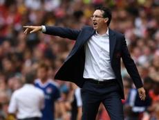 El Arsenal vio a Szoboszlai en directo con la Selección de Hungría. EFE