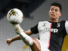 Ronaldo failed to score against Cagliari. AFP
