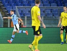 La Lazio Rome surprend Dortmund. AFP