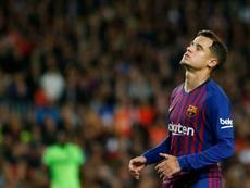 El Liverpool dejará de ingresar dinero si Coutinho se va. AFP