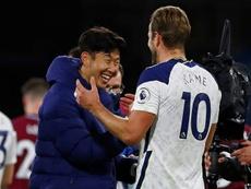 Kane y Son han fabricado juntos 29 goles. AFP