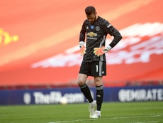 De Gea is getting heavily criticised after some recent errors. AFP/Archivo