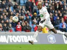 El Lille ha recibido una oferta escandalosa por Victor Osimhen. AFP/Archivo