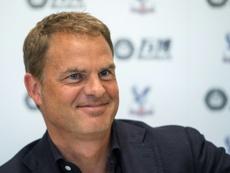 De Boer praised the intensity. AFP